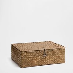 PALM BOX - Baskets - Bathroom | Zara Home Ireland Zara Home España, Decoration, Decorative Boxes, The Unit, Brown, United Kingdom, Baskets, Ireland, Palm