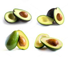 Check out Fresh avocado set by Grounder on Creative Market