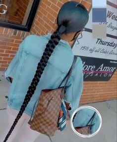 Hair Ponytail Styles, Weave Ponytail Hairstyles, Black Girl Braided Hairstyles, Sleek Ponytail, Baddie Hairstyles, African Braids Hairstyles, Curly Hair Styles, Natural Hair Styles, Protective Hairstyles