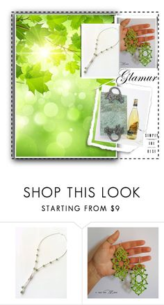 """""""Spring Greenery"""" by jarmgirl ❤ liked on Polyvore featuring vintage"""
