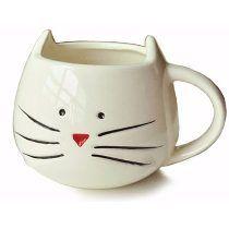 Taza Gato / Gatito Diseño Ceramica Mug Gora Gora Cat Coffee Mug, Coffee Milk, Unique Coffee Mugs, Cat Mug, Coffee Cups, Tea Cups, Coffee Gifts, Cute Birthday Gift, Christmas Birthday