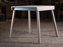 handmade wooden table design&manufactured in Italy