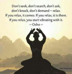 Meditate to find your relaxation