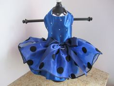 Dog Dress Design and Made by Ninas Couture Closet (xs ready to ship )    Dog Dress size XS Measurements are Neck 9 inches adjustable Girth 14