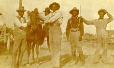 """The irony behind the word """"cowboy,"""" is that it was used to negatively describe Black """"cowhands"""" but now serves as a universal depiction of the bootstrapping, gun-toting white males associated with western culture. This is evidenced in popular films including, but not limited to, The Magnificent Seven (1960), Django (1966) and The Assassination of Jesse …"""