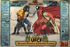 UFCF - Ultimate Fictional Characters Fighting - AreImages