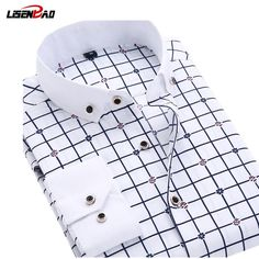 New 2017 Long Sleeve Solid Color dot printing Shirt Men Regular Fit Turn-down Collar Non Iron Business Dress Shirts Work Wear