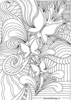 Volwassen Kleurplaten Liefde.280 Beste Afbeeldingen Van Kleurplaten Voor Volwassenen Colouring