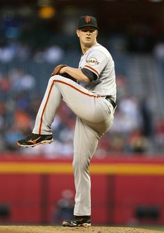 Matt Cain, of the San Francisco Giants  Just an awesome pitcher... I just wish he was doing better this season.