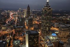 Atlanta @ night