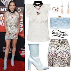 Maddie Ziegler Baby Blue Romper Amp Pumps Fashion