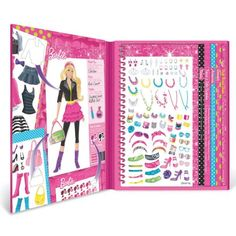 Fashion Angels Barbie Sticker Stylist   22303 Features: -Album includes 700 stickers in metallic, puffy, and paper varieties. -Includes Read  more http://shopkids.ca/fashion-angels-barbie-sticker-stylist/