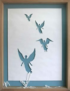 "Peter Callesen ~ ""Dead Angels"" via My Modern Met: Amazing Large Scale Papercut Art"