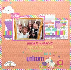 Doodlebug Design: Another Fairy Tales Layout