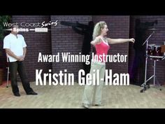 ▶ West Coast Swing Spins & Turns Preview (Kristin Ham Dance Instruction) - YouTube