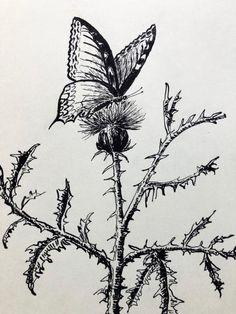 SeniorTip Watercolor Landscape, Leaf Tattoos, Rocks, Pastel, Trees, Drawings, Plants, Decor, Cake