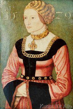 Hans Krel - Weibliches Bildnis