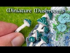 Tutorial: Making Tiny Mushrooms from Clay – Polymer Clay