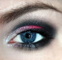 Anti Valentine's Day http://www.makeupbee.com/look_Anti-Valentines-Day_22646