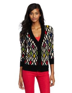 Trina Turk Women's Connery Printed Cardigan Trina Turk. $208.60. Double oval seven print. Dry Clean Only. 100% Merino Wool. Long sleeves