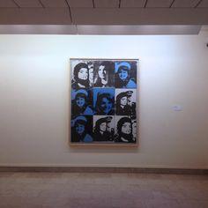 "Nine Jackies, 1964 by Andy Warhol :: ""Sonnabend | Paris – New York"" na Fundação Arpad Szenes – Vieira da Silva, Lisboa"