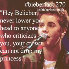 no matter what haters say guys we can't let them push us down ok! We are the strongest fandom. We've been through alot together and im proud to call myself a belieber. Justin Bieber Quotes, Justin Bieber Facts, I Love Justin Bieber, Canadian Boys, I Love Him, My Love, Prince Of Pop, My Prince Charming, My Princess