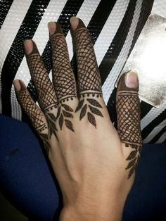 Image result for fINGER MEHNDI