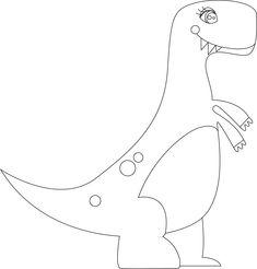 Molde de Dinosaurio hecho con Illustrator. Más fotografías dando clic a la imagen. Appliance, Patterns, Dinosaur Decorations, Writing Activities, So Done, Block Prints, Brickwork, Pattern, Models