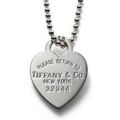 Return To Tiffany Heart Tag Pendant & Necklace