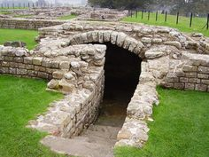 Pictures of Places Along Hadrian's Wall: Chesters Fort Strongroom
