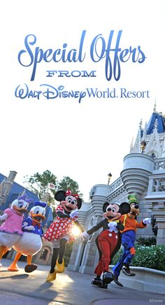 Special Offers from Walt Disney World