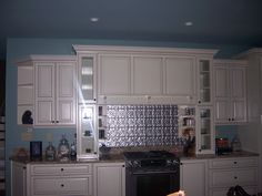 Decorative Tin Backsplash Tiles Tin Backsplash For Behind My Stove  Dream Kitchen  Pinterest