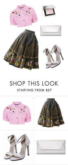 """""""весеннее настроение"""" by irina-glad ❤ liked on Polyvore featuring Moschino, Dorothy Perkins and Burberry"""