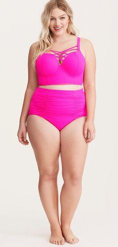 Plus Size Bikini Swimsuit