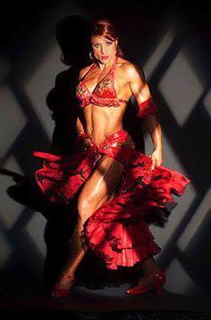 Bodybuilder Nancy Di Nino