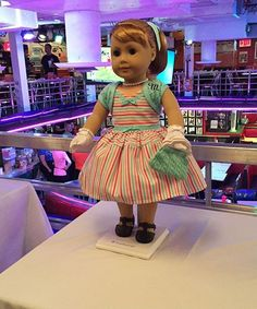 American Girl Doll 1950s Maryellen Larkin | Maryellen Larkin is the latest historical doll, and hails from 1954. #refinery29 http://www.refinery29.com/2015/08/92739/american-girl-doll-maryellen-larkin