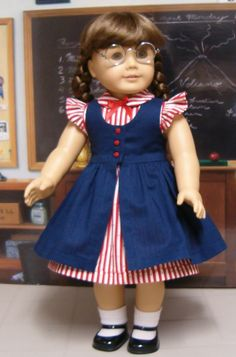 From the Keeper's Sewing Doll Clothes, American Doll Clothes, Girl Doll Clothes, Baby Frocks Designs, Kids Frocks Design, African Dresses For Kids, Little Girl Dresses, Girls Frock Design, Baby Girl Dress Patterns