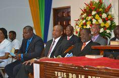Jamaica Baptist Union leadership at the 2015 General Assembly (Feb. 18-22, 2015). Photo provided by Arlene Henry, program coordinator at JBU.