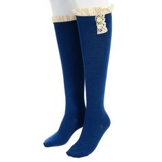"Girly 2 button boot socks"" Available in blue. These are brand new in packaging.                            ✨Please read entire description✨ ✨Please ask any questions prior to purchasing✨ ✨ Discounts On Bundles ✨ CupofTeaBoutique Accessories Hosiery & Socks"
