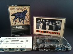 LOS LOBOS - how will the wolf & light of - CASSETTES chicano rock