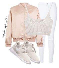 """Untitled #16"" by itsmissjanetta on Polyvore featuring Cameo Rose, NIKE, women's clothing, women, female, woman, misses and juniors"