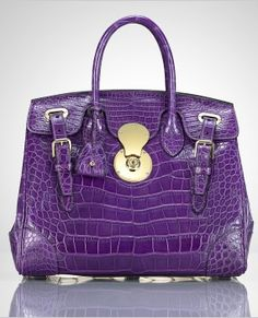 ralph-lauren-the-crocodile-ricky-bag-purple Heritage Auctions lists starting bid $4000 in their 4/28/14 sale.