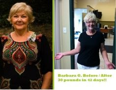 Barbara G lost 30 pounds on Liquid Amino Diet - and feels great!