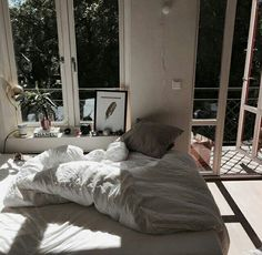 Inspirational ideas about Interior, Interior Design and Home Decorating Style for Living Room, Bedroom, Kitchen and the entire home. Curated selection of home decor products. Dream Rooms, Dream Bedroom, Home Bedroom, Bedroom Decor, Bedrooms, Light Bedroom, Deco House, Dream Apartment, Apartment Living