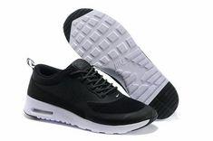 the best attitude 8c671 a54be chaussure nike homme homme air max thea noir et blanche pas cher