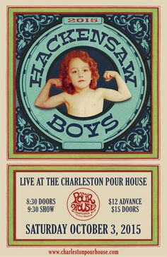 Hackensaw Boys :: The Charleston Pour House :: October 3rd 2015 :: Charleston, SC #CHSMusic