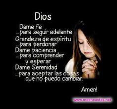 frases y imagenes de fuerzas | Frases De Amor ♥ - Google+ - Dios dame fe.. sigue a www.meencantas ...