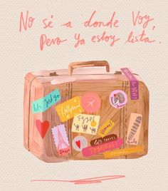 Siempre lista!!! Travel Wallpaper, Iphone Wallpaper, Motivational Phrases, Inspirational Quotes, More Than Words, Spanish Quotes, Travel Quotes, Travel Posters, Wallpaper Quotes