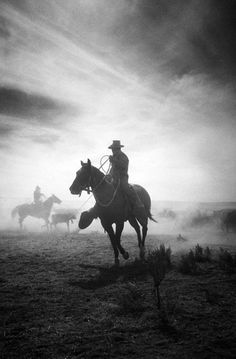 black and white cowboy photos - Google Search