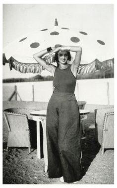 """"""" Jacques-Henri Lartigue, Renée Perle, 1930-32 """""""